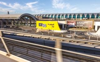 الصورة: «دبي الدولي» يتصدّر المطارات العالمية خلال الربع الأول من 2021