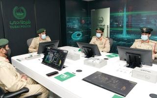 الصورة: شرطة دبي تحقق 2.4 دقيقة زمن التعامل مع الطوارئ
