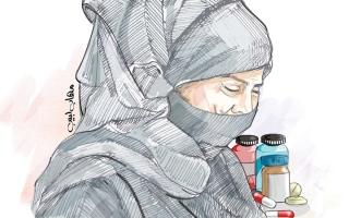 الصورة: 21 ألف درهم تعيد «سعاد» إلى العلاج