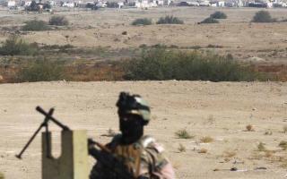 الصورة: هجوم بطائرة مسيرة على قاعدة تضم أميركيين في العراق