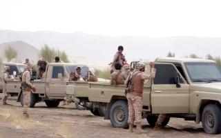 الصورة: التحالف يدمر طائرة مُسيّرة مفخخة أطلقها الحوثيون تجاه السعودية