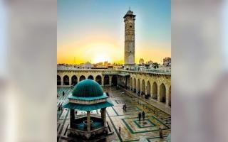 الصورة: بالفيديو.. مساجد.. «الأموي الكبير».. أعظم مساجد الدنيا احتفالاً