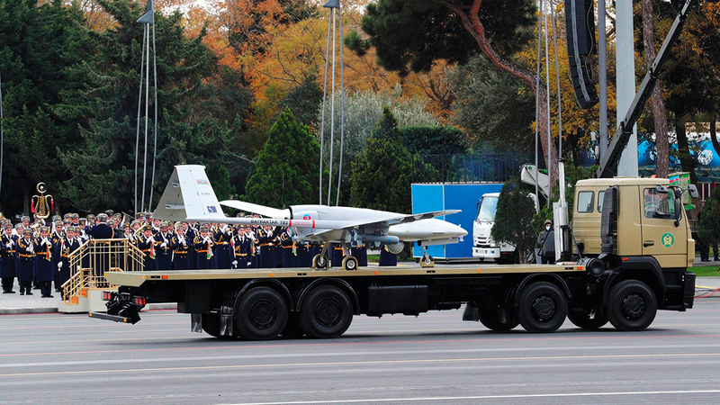 الطائرات بدون طيار التركية شاركت بقوة في الحرب الأخيرة.  أرشيفية