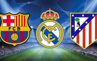 المواجهات الحاسمة للقب الدوري الإسباني بين أتلتيكو وريال مدريد وبرشلونة