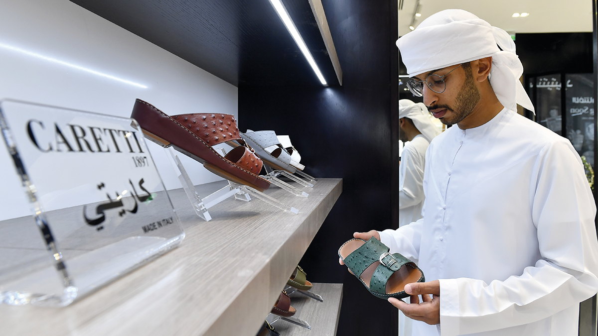 معرض دبي هو الفرع الأول للعلامة التجارية في المنطقة رغم شهرتها الكبيرة. تصوير: باتريك كاستيلو