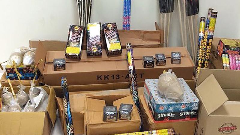 الألعاب النارية تهدد بحوادث عدة للأطفال.   أرشيفية