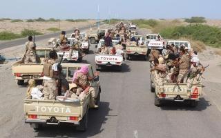 الصورة: عملية عسكرية نوعية لمقاتلات التحالف في 4 محافظات يمنية