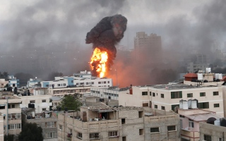 الصورة: تخوف من «حرب شاملة» مع استمرار التصعيد بين إسرائيل وقطاع غزة