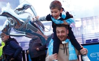 الصورة: غوارديولا: لا أطيق انتظار الاحتفال مع الجماهير بلقب الدوري الإنجليزي