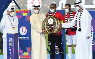 راشد بن حميد: المنافسة على الدوري «قوية جداً»