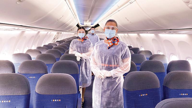 الاستطلاع شمل 2800 مسافر وركّز على تجربتهم مع «فلاي دبي».   من المصدر