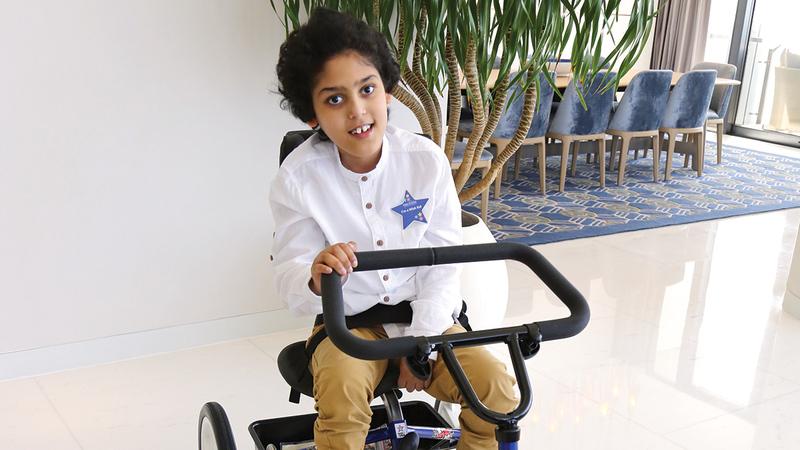 تحقيق الأمنيات أسهم في نشر الفرحة والسعادة لدى عدد من الأطفال المرضى.  من المصدر