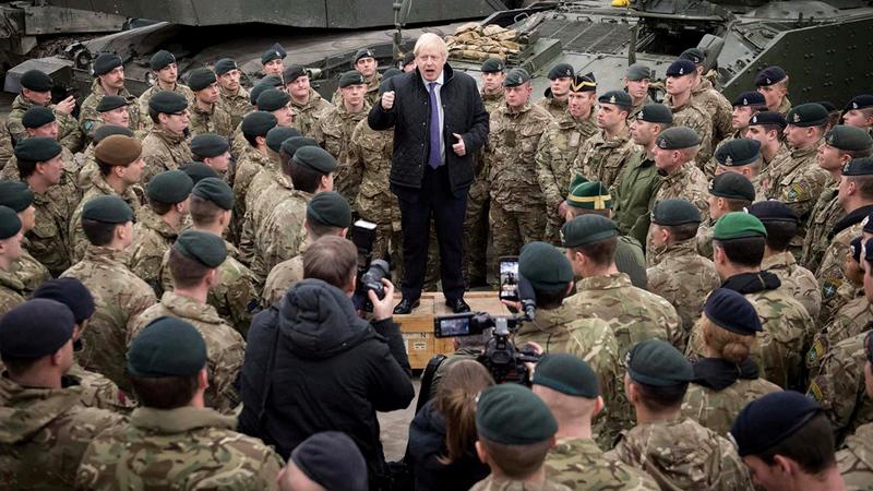 تريد بريطانيا تقليص أعداد المجندين والعتاد في المرحلة المقبلة.   أرشيفية
