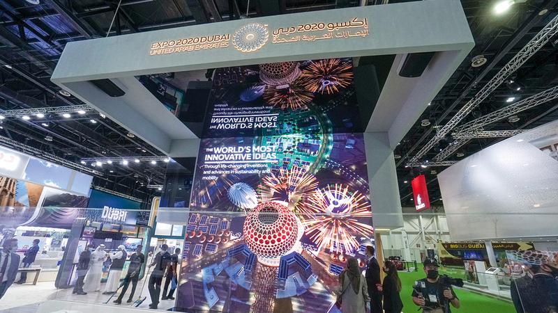 وجود فعاليات مرتقبة مثل «إكسبو 2020 دبي» يسهم في مواصلة الانتعاش.  تصوير: أشوك فيرما