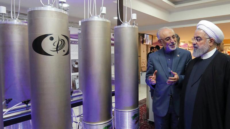 التخصيب الإيراني لايزال مسألة شائكة.   أرشيفية