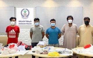 شرطة الشارقة تحبط محاولة إدخال مواد مخدرة للدولة خلال عيد الفطر
