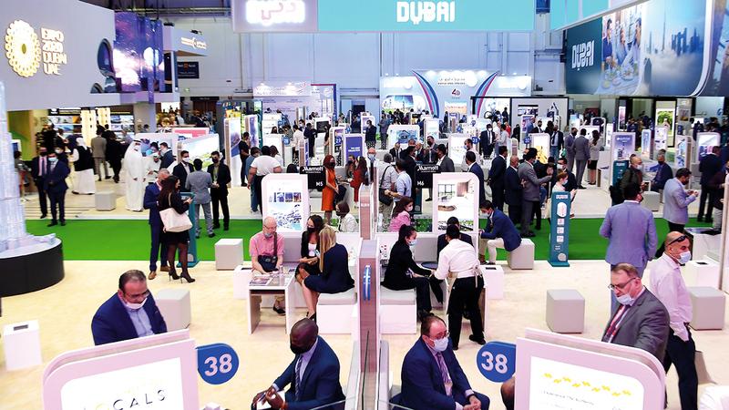 «ميلينيوم» تشارك في فعاليات معرض سوق السفر العربي 2021.  تصوير: باتريك كاستيلو