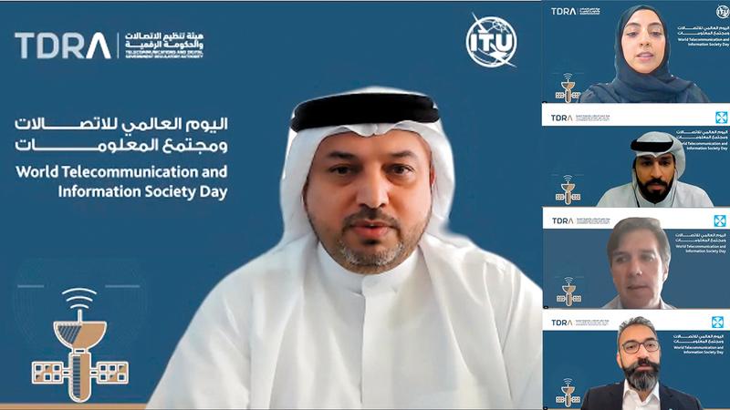 بن غليطة أكد خلال ندوة افتراضية نجاح الإمارات منذ الأيام الأولى للجائحة في الانتقال السريع إلى العمل والتعليم عن بعد.  من المصدر