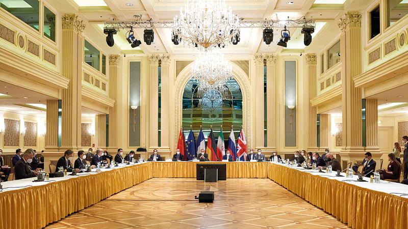 مفاوضات فيينا قد «تنهار فجاة». رويترز