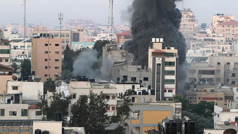 إجراءات وقف إطلاق النار في غزة علاج مؤقت للمشكلة الإسرائيلية - الفلسطينية.   رويترز