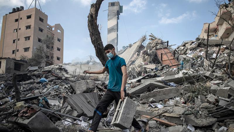 الفلسطينيون هم من يدفع دائماً كلفة التصعيد.   أ.ب