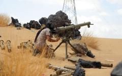 الصورة: تدمير أهداف ومواقع حوثية بصعدة.. ومعارك في محيط سد مأرب