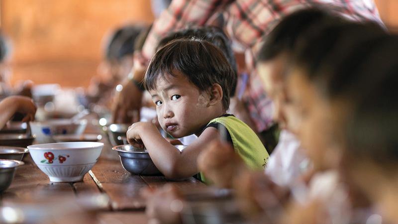 هناك أزمة جوع مهدّدة للحياة في أكثر من مكان.  أرشيفية