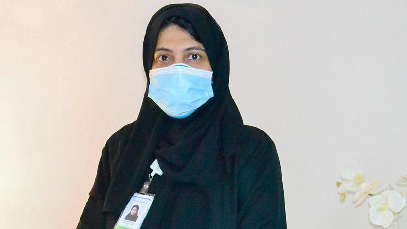 فاطمة خوري: «واجبي كمواطنة أن أخدم بلدي ومجتمعي وعائلتي، حتى ننتصر على الوباء».