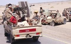 الصورة: «التحالف» يدمّر مسيّرة مفخخة أطلقتها ميليشيات الحوثي باتجاه جازان في السعودية