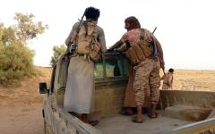 الصورة: الجيش اليمني يطهر 5 مواقع في «كسارة» مأرب