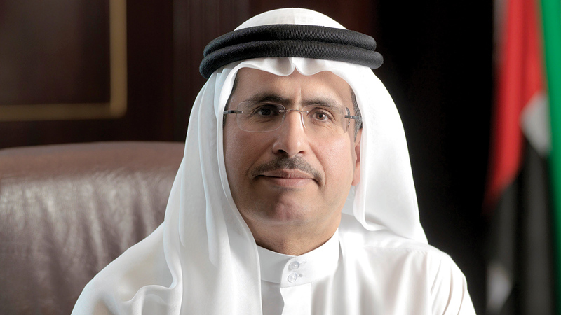 سعيد محمد الطاير: «(تخزين المياه المحلاة) من المشروعات الاستراتيجية التي تدعم أمن إمدادات المياه في دبي».