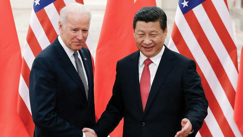 التناقس الصيني الأميركي يحتدم.   أرشيفية