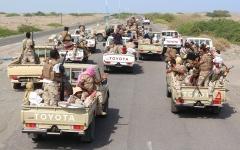 الصورة: الجيش اليمني يبدأ عملية عسكرية واسعة في 4 جبهات غرب مأرب
