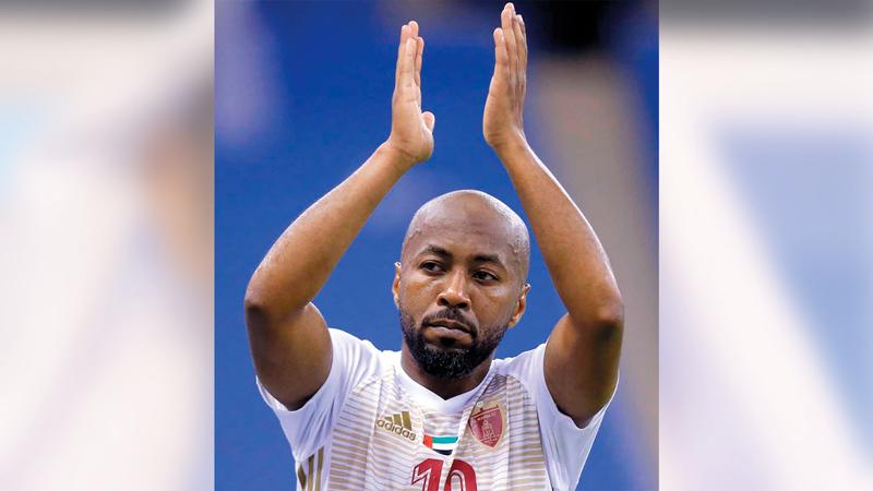 إسماعيل مطر لعب 20 مباراة أساسياً وحل بديلاً في 3 مباريات فقط.   الإمارات اليوم