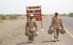 الصورة: بعثة أممية تدعو إلى إزالة مخلفات الحرب من الحديدة
