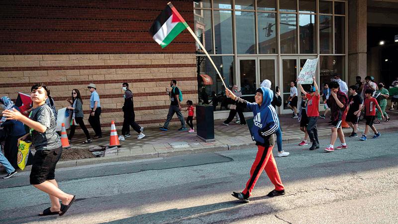 تهميش الفلسطينيين في المدن المختلطة فجّر انتفاضة غير مسبوقة.  أرشيفية