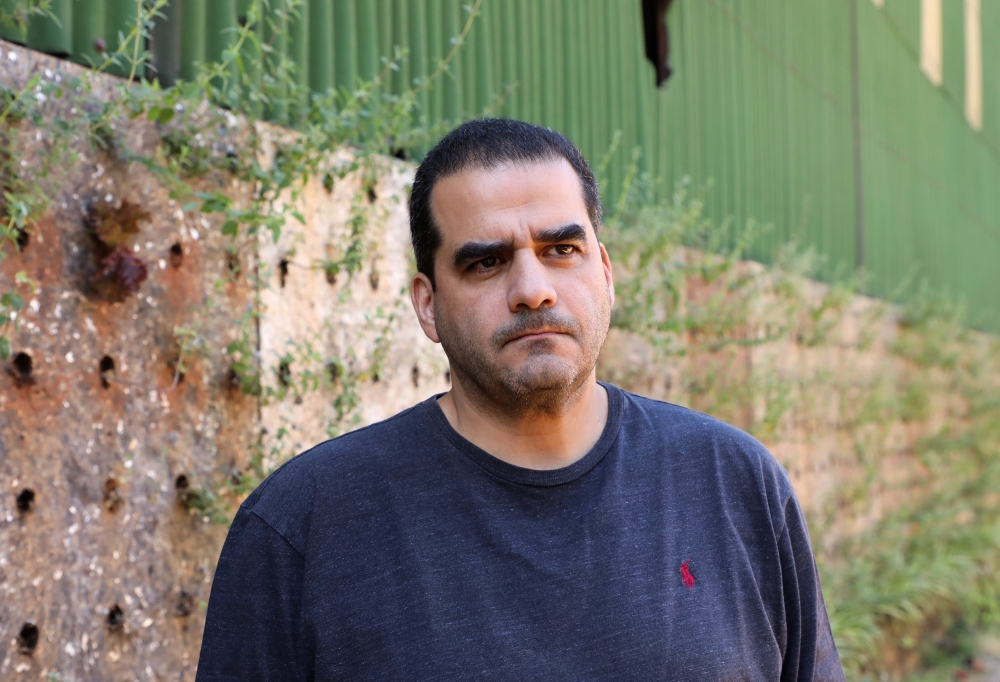 المهندس البيئي اللبناني زياد أبي شاكر  رويترز