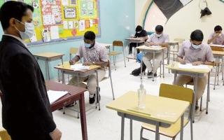 الصورة: «الشارقة للتعليم الخاص» تعلن جاهزية مدارسها للامتحانات