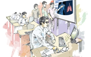 الصورة: مهندسون وصيادلة وأساتذة جامعات.. «مدرسون خصوصيون»