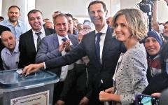 الصورة: الأسد «يصوّت» ويرد على الغرب: قيمة آرائكم صفر وقيمتكم 10 أصفار