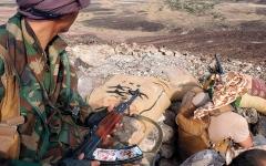 الصورة: الجيش اليمني والقبائل يتقدمان في مأرب ويصدان هجوماً للميليشيات بالجوف