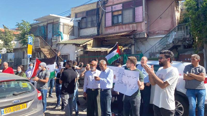 المقدسيون يرفضون قرار إخلاء ومصادرة بيوتهم.    الإمارات اليوم