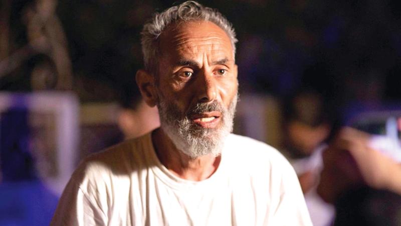 رئيس لجنة سكان حي «الشيخ جراح» صالح ذياب.   الإمارات اليوم