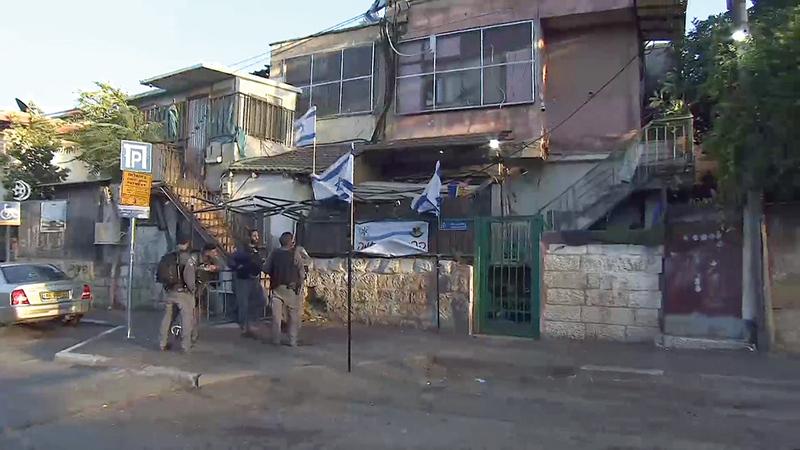 منزل عائلة الغاوي في الحي المقدسي صودر عام 2009.  الإمارات اليوم