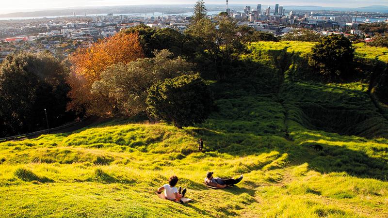 تتميز نيوزيلندا بطبيعتها الجميلة ونقاء هوائها.   أرشيفية
