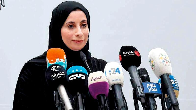 الدكتورة فريدة الحوسني: «الجهات الصحية الإماراتية أجرت دراسة بشأن فاعلية التطعيم في الدولة».