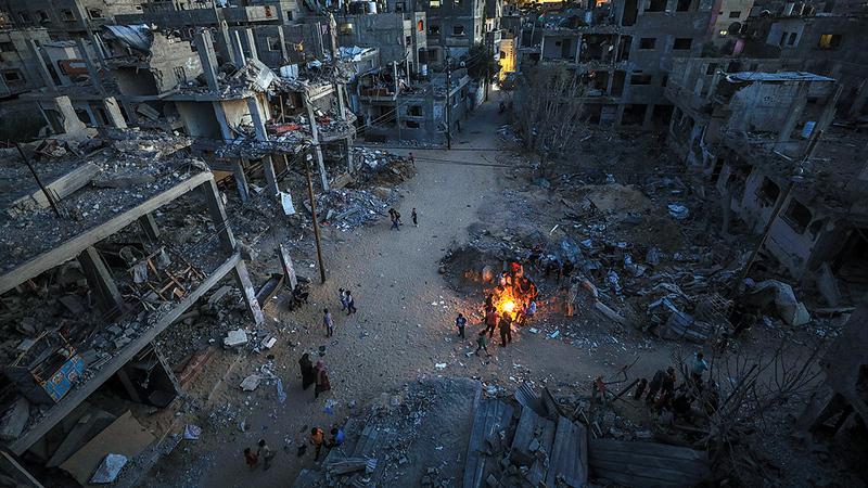 الدمار الكبير الذي لحق بغزة يحتاج من بريطانيا إلى دور أكثر جرأة للضغط على إسرائيل.  إي.بي.إيه