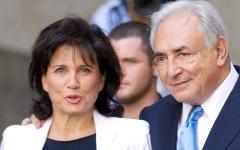 الصورة: زوجة رئيس صندوق النقد الدولي السابق تقول إنها كانت تخافه