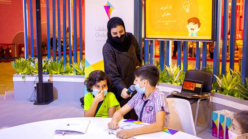 الورشة قدمتها مريم العبدولي ضمن مشاركات الإدارة في المهرجان.   من المصدر