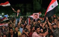 الصورة: إعادة انتخاب الأسد رئيساً لسورية بـ 95% من الأصوات